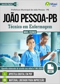 Técnico em Enfermagem - Prefeitura de João Pessoa - PB