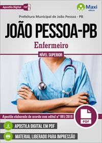 Enfermeiro - Prefeitura de João Pessoa - PB