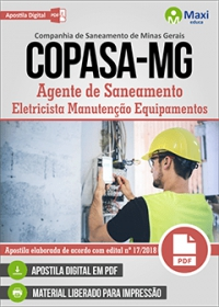 Agente de Saneamento - Eletricista Manutenção Equipamentos - COPASA-MG