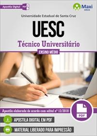 Técnico Universitário - UESC