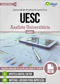 Analista Universitário (ANA001) - UESC