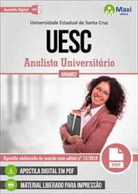 Analista Universitário (ANA002) - UESC