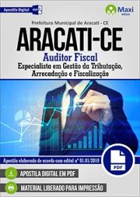 Auditor Fiscal - Prefeitura de Aracati - CE