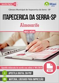 Almoxarife - Câmara de Itapecerica da Serra - SP