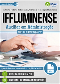 Auxiliar em Administração - IFFluminense
