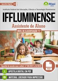 Assistente de Aluno - IFFluminense