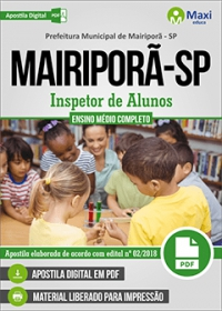 Inspetor de Alunos - Prefeitura de Mairiporã - SP