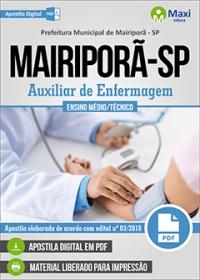 Auxiliar de Enfermagem - Prefeitura de Mairiporã - SP