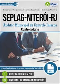 Auditor de Controle Interno - Controladoria - SEPLAG - Niterói - RJ
