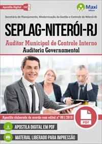 Auditor de Controle Interno - Auditoria Governamental - SEPLAG - Niterói - RJ