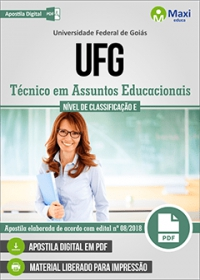 Técnico em Assuntos Educacionais - UFG