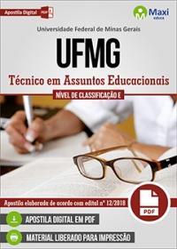 Técnico em Assuntos Educacionais - UFMG