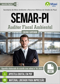 Auditor Fiscal Ambiental - SEMAR-PI