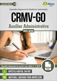 Auxiliar Administrativo - CRMV-GO