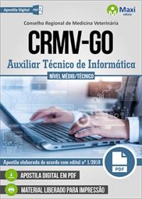 Auxiliar Técnico de Informática - CRMV-GO