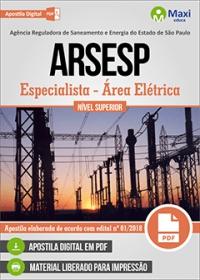 Especialista - Área Elétrica - ARSESP