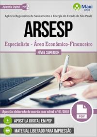 Especialista - Área Econômico-Financeiro - ARSESP