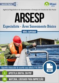 Especialista - Área Saneamento Básico - ARSESP
