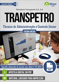 Técnico de Administração e Controle Júnior - TRANSPETRO