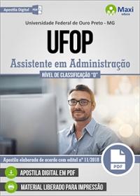 Assistente em Administração - UFOP