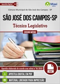 Técnico Legislativo - Câmara de São José dos Campos - SP