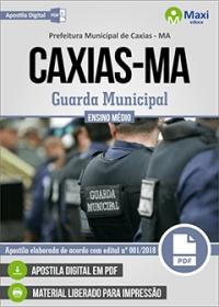 Guarda Municipal - Prefeitura de Caxias - MA