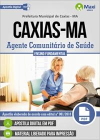Agente Comunitário de Saúde - Prefeitura de Caxias - MA