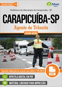 Agente de Trânsito - Prefeitura de Carapicuíba - SP