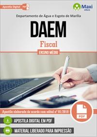 Fiscal - DAEM - Marília - SP