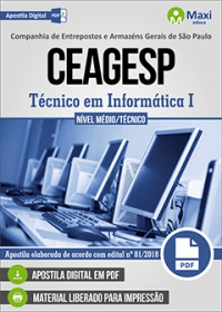 Técnico em Informática I - CEAGESP