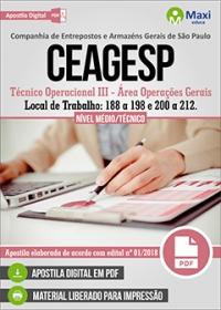 Técnico Operacional III - CEAGESP