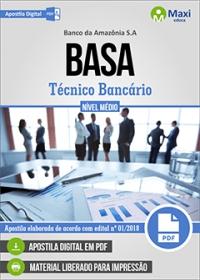 Técnico Bancário - BASA