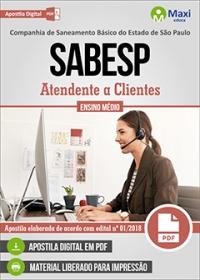 Atendente a Clientes - SABESP