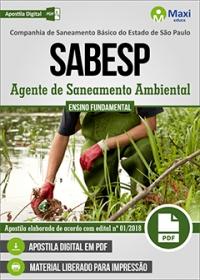 Agente de Saneamento Ambiental - SABESP