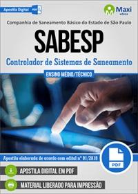Controlador de Sistemas de Saneamento - SABESP
