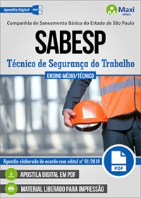 Técnico de Segurança do Trabalho - SABESP