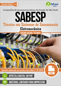 Técnico em Sistemas de Saneamento (Eletromecânica) - SABESP
