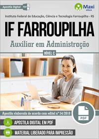 Auxiliar em Administração - IF Farroupilha
