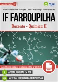 Docente - Química II Metodologias de Ensino de Química - IF Farroupilha