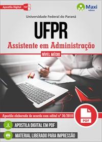 Assistente em Administração - UFPR