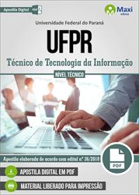Técnico de Tecnologia da Informação - UFPR
