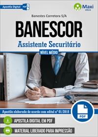Assistente Securitário - BANESCOR