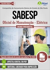 Oficial de Manutenção (Elétrica) - SABESP