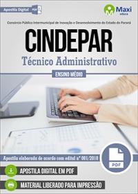 Técnico Administrativo - CINDEPAR