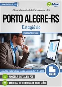 Estagiário de Ensino Superior - Câmara de Porto Alegre - RS