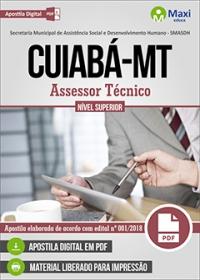 Assessor Técnico - SMASDH - Prefeitura de Cuiabá - MT