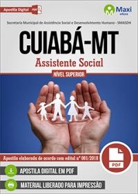 Assistente Social - SMASDH - Prefeitura de Cuiabá - MT