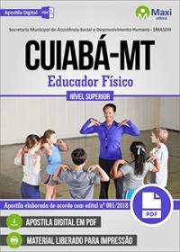 Educador Físico - SMASDH - Prefeitura de Cuiabá - MT