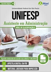 Assistente em Administração - UNIFESP
