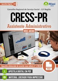 Assistente Administrativo - CRESS-PR